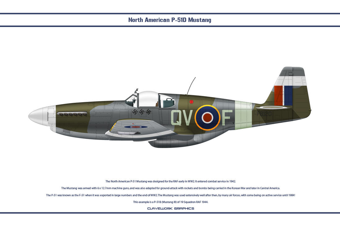 Mustang GB 19 Sqn 1 by WS-Clave