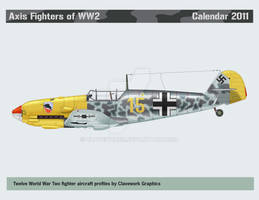 Axis Fighters Calendar 2011 by Claveworks