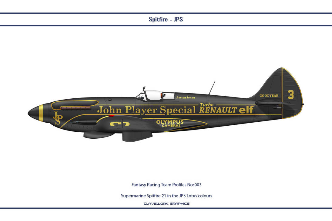 FR003 Spitfire JPS by WS-Clave