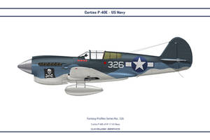 Fantasy 326 P-40E US Navy by WS-Clave