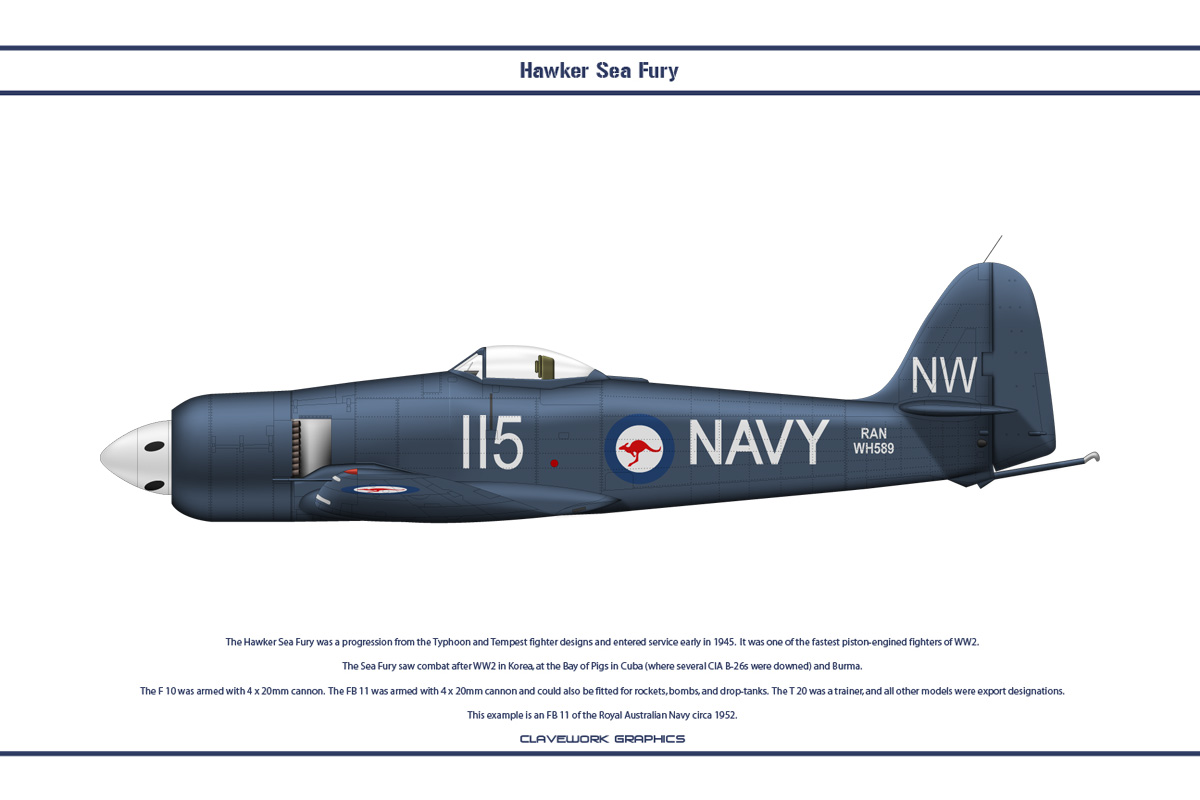 Sea Fury Australia 2 by WS-Clave