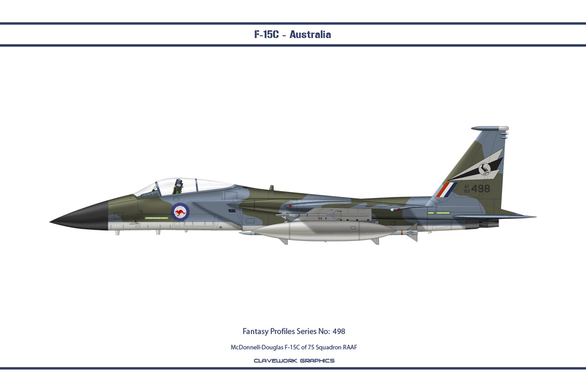 Fantasy 498 F-15C Australia by WS-Clave