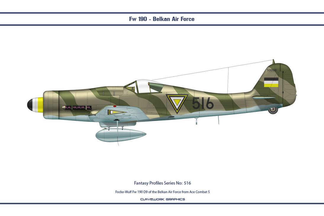 Fantasy 516 Fw 190 D9 Belkan by WS-Clave