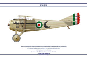 Spad S.VII Italy 91a Sqd by WS-Clave