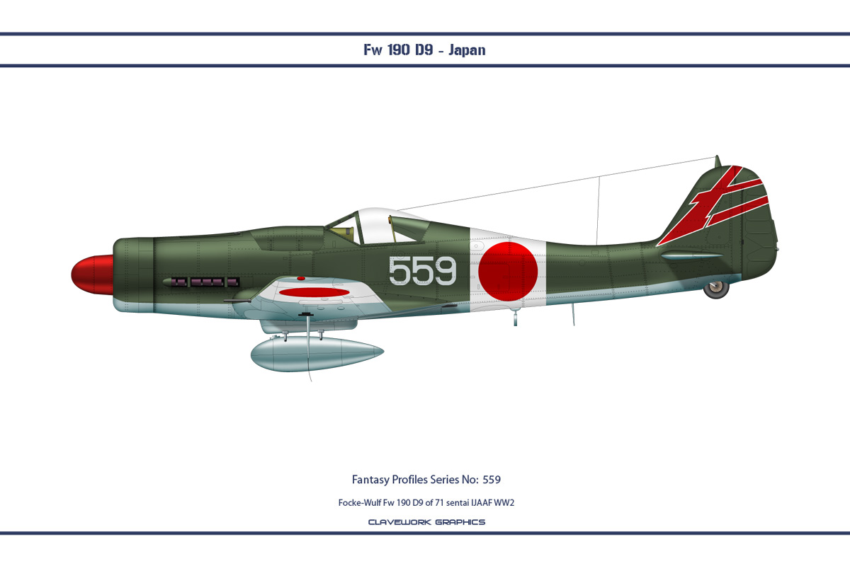 Fantasy 559 Fw190D9 Japan by WS-Clave