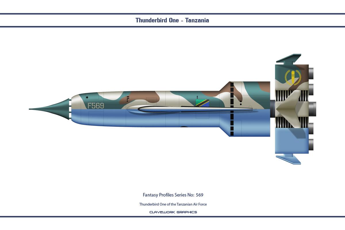 Fantasy 569 Thunderbird One Tanzania by WS-Clave