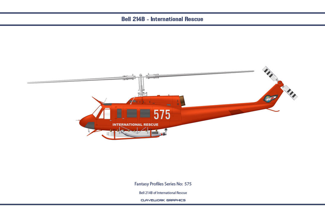 Fantasy 575 Bell 214B International Rescue by WS-Clave