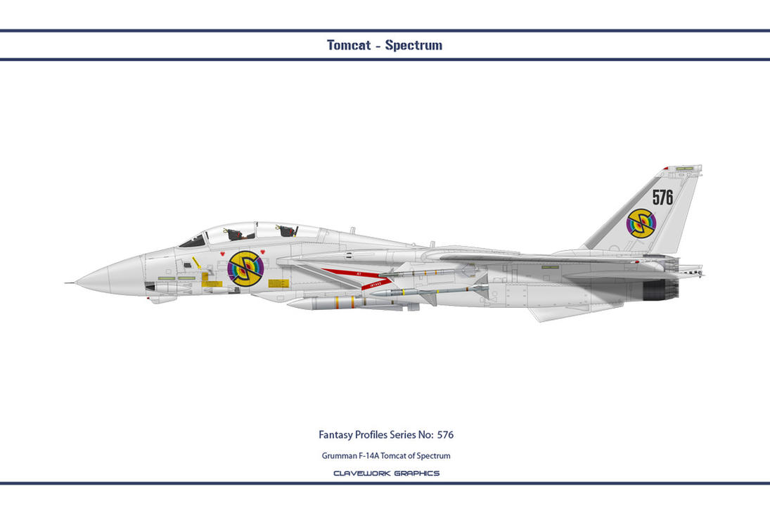 Fantasy 576 F-14A Spectrum Dev by WS-Clave