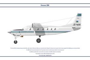 Cessna 208B Djibouti