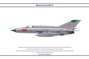 MiG-21 Poland 2 by WS-Clave
