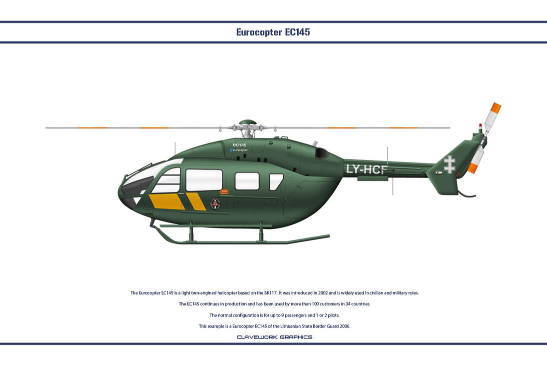 EC145 Lithuania by WS-Clave