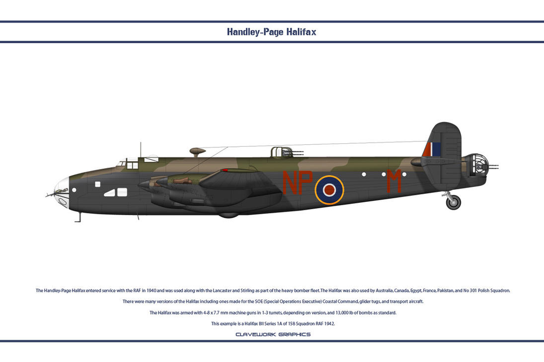 Halifax GB 158 Sqn 1 by WS-Clave