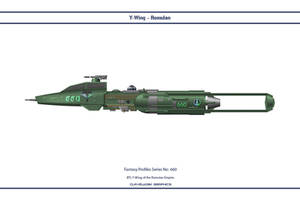 Fantasy 660 Y-Wing Romulan by WS-Clave