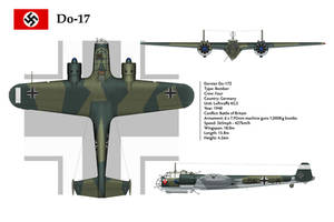 Do-17 KG3 3-View