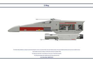 E-Wing 001 by WS-Clave