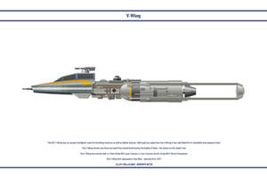 Y-Wing Gold 5 by WS-Clave