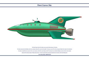 Planet Express Ship by WS-Clave