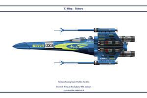 FR033 X-Wing Subaru by WS-Clave