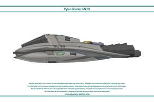 Cylon Raider Mk 3 by WS-Clave