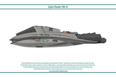 Cylon Raider Mk 3