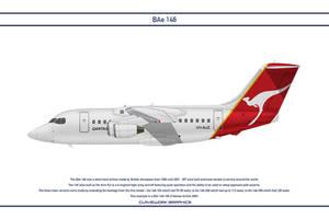 Bae 146 Qantas