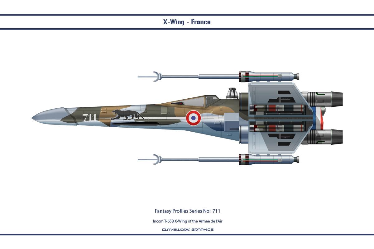 Fantasy 711 X-Wing France
