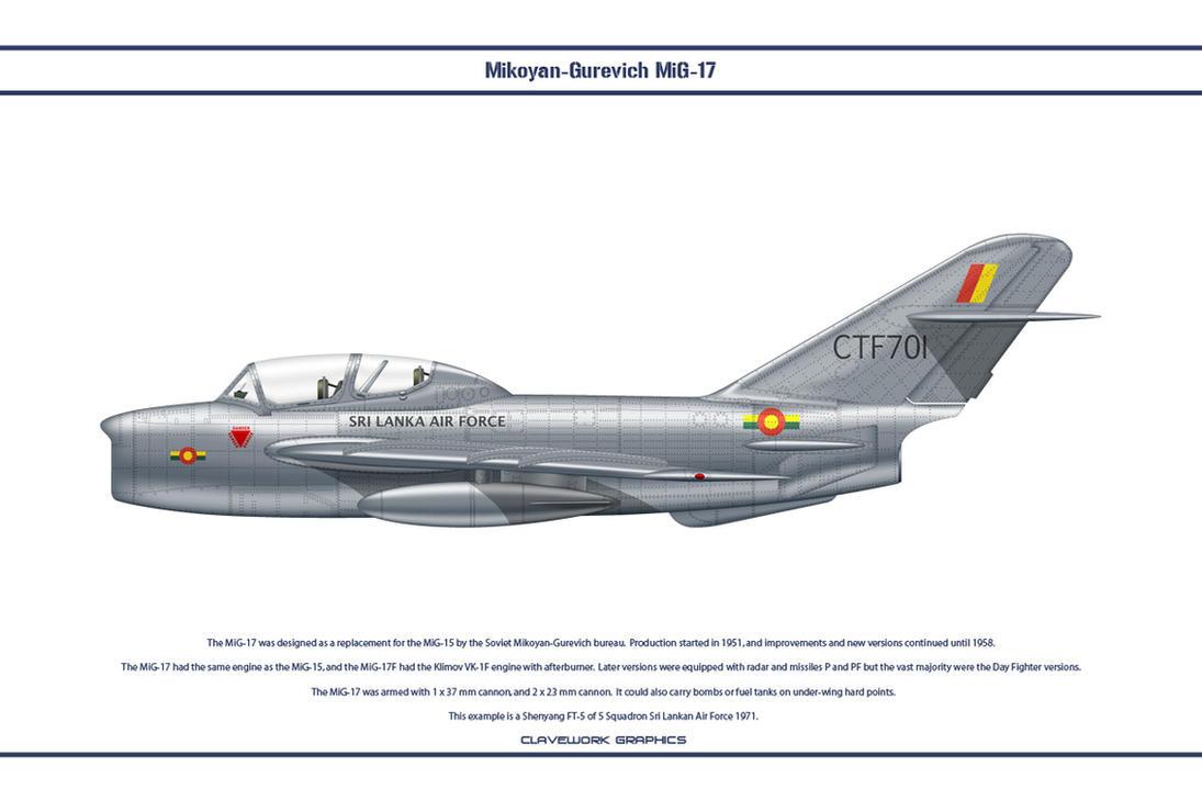 MiG-17 Sri Lanka 2 by WS-Clave