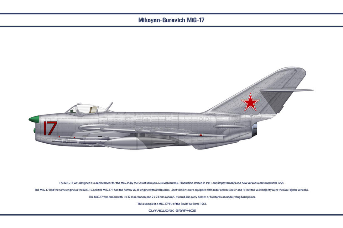 MiG-17 USSR 3 by WS-Clave