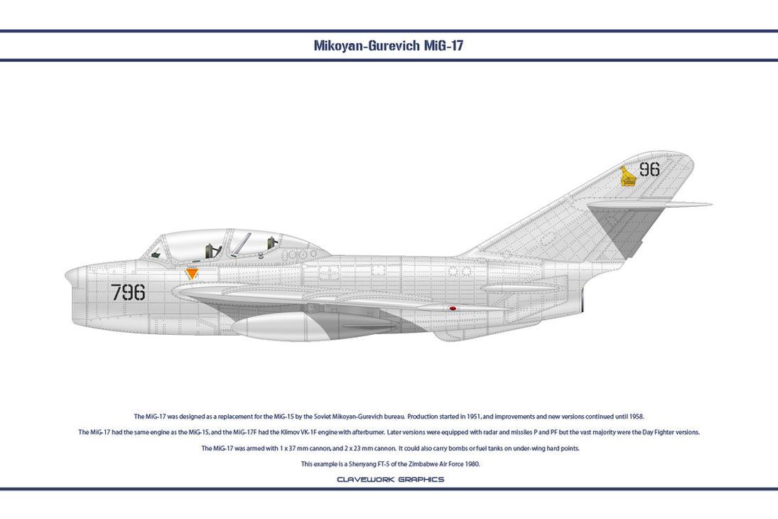MiG-17 Zimbabwe 1 by WS-Clave
