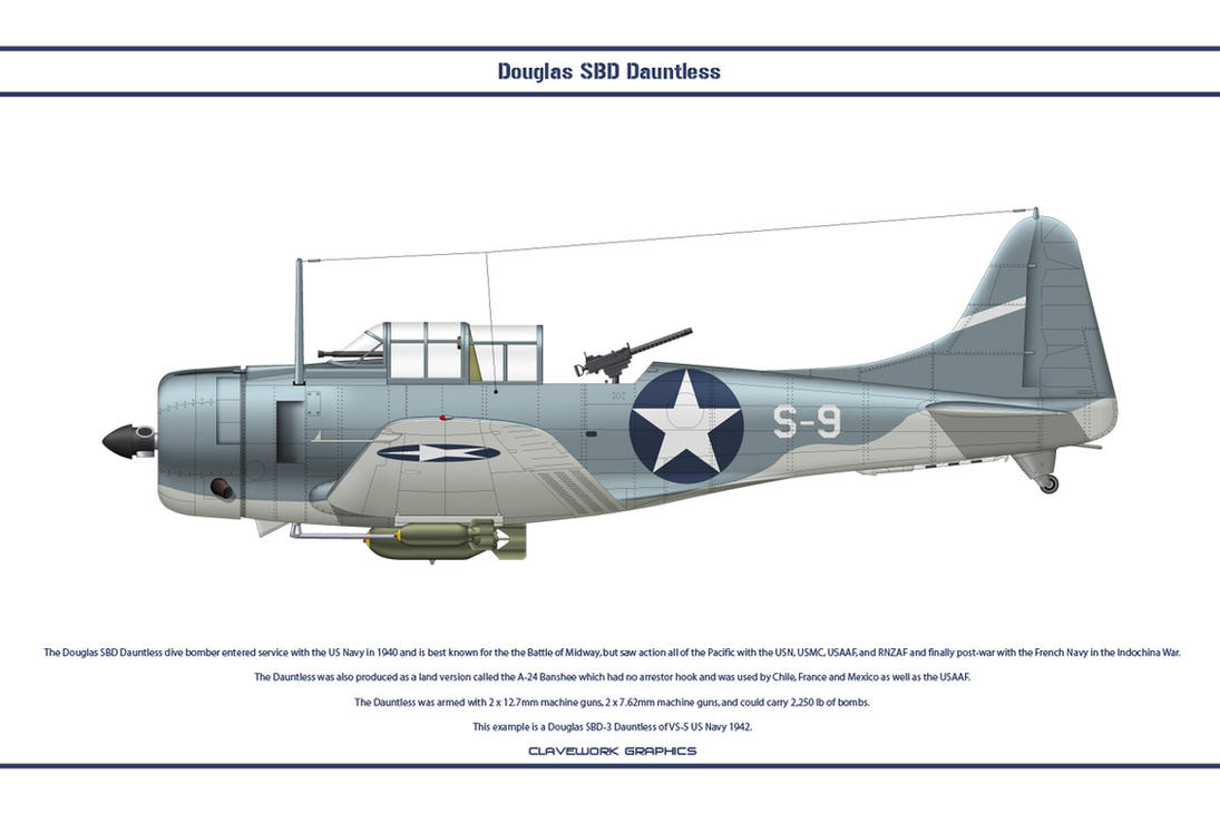 Dauntless USA VS-5 by WS-Clave