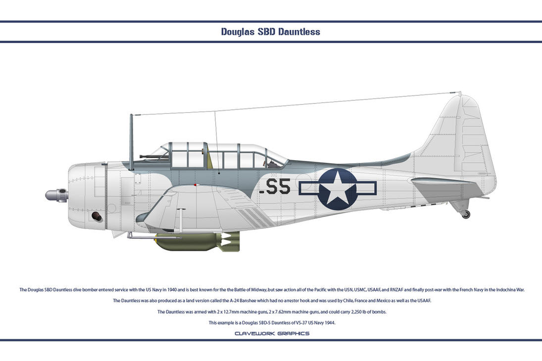 Dauntless USA VS-37 by WS-Clave