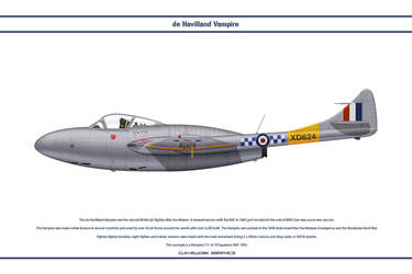 Vampire GB 19 Sqn by WS-Clave