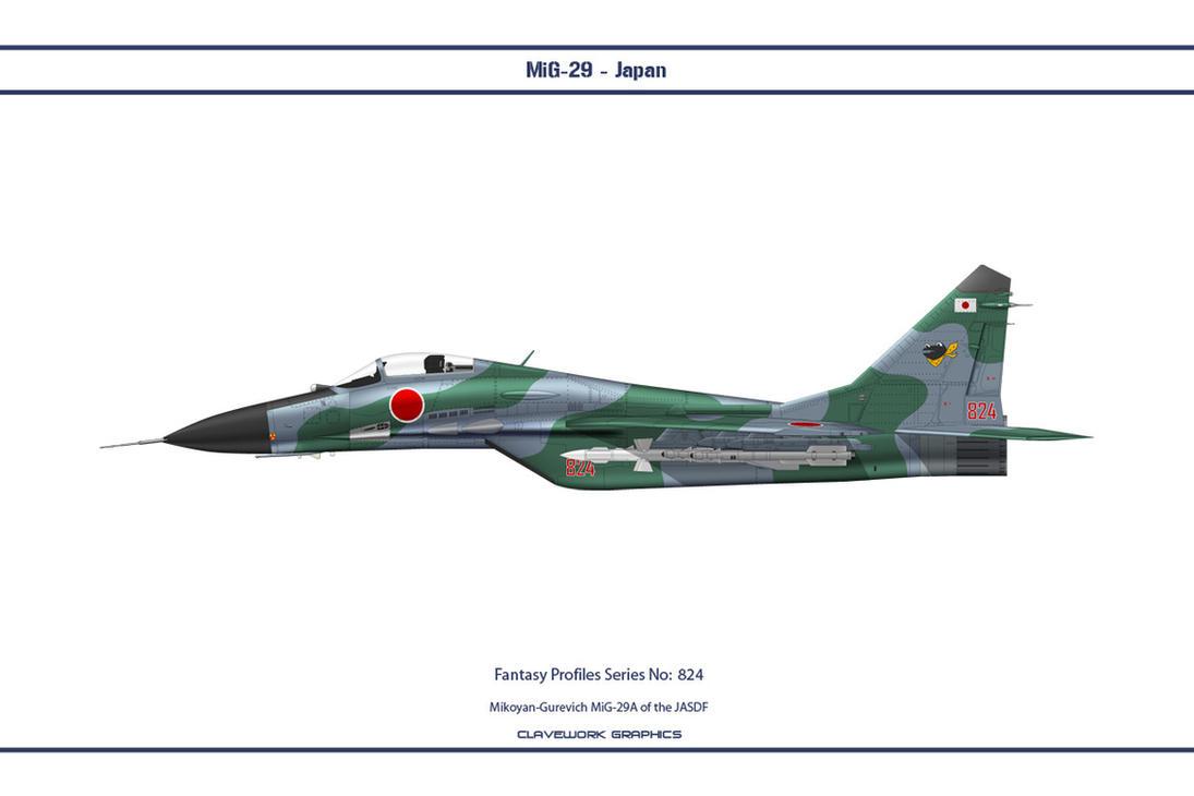 Fantasy 824 MiG-29A Japan by WS-Clave