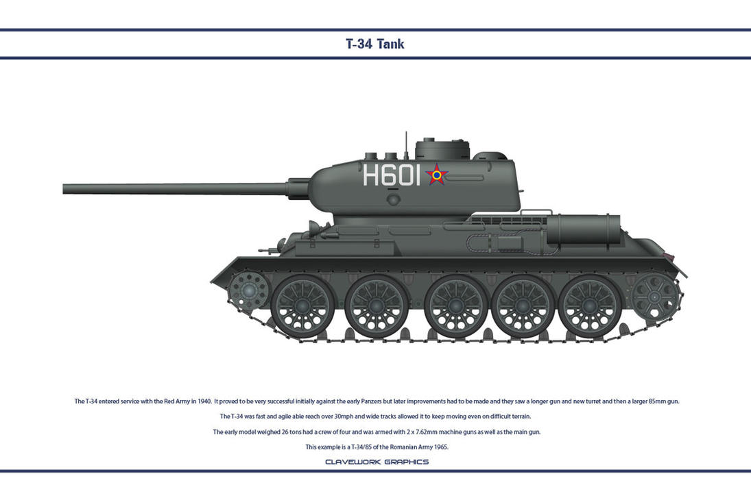 T-34 Romania 001 by WS-Clave