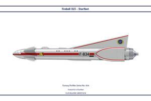 Fantasy 834 Fireball XL5 Starfleet by WS-Clave