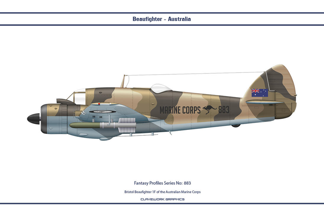 Fantasy 883 Beaufighter Australia by WS-Clave