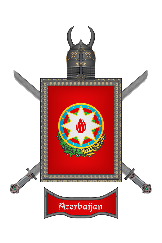 Shield Azerbaijan 2 by WS-Clave