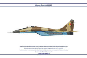 MiG-29 Chad 1 by WS-Clave