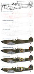 Spitfire Mk II Process by WS-Clave