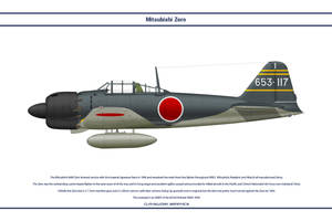 Zero Japan 653rd Kokutai 1 by WS-Clave