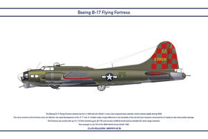 B-17 USA 385th Bomb Group 1 by WS-Clave