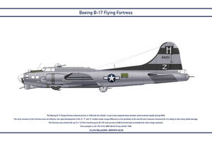 B-17 USA 388th Bomb Group 1 by WS-Clave