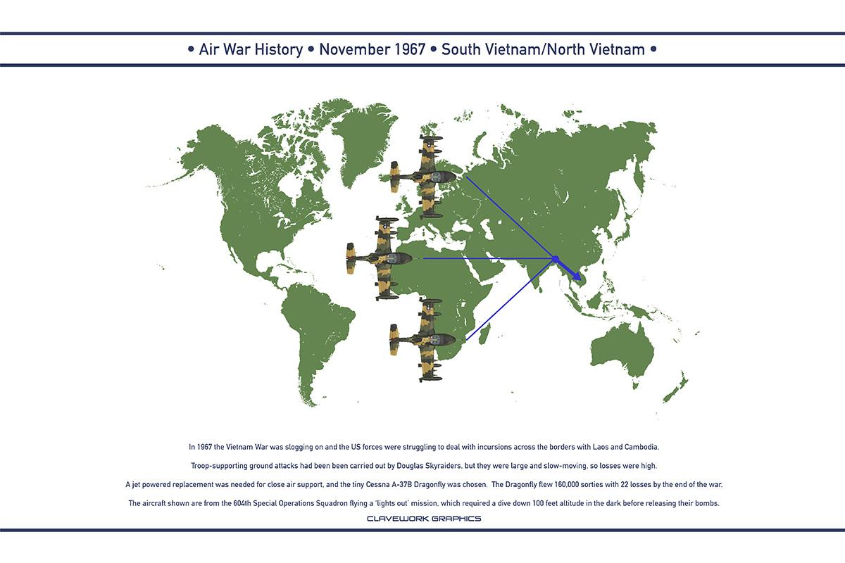 Air War 1967 November by WS-Clave