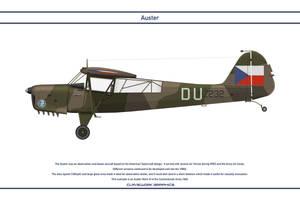 Auster Czechoslovakia 1 by WS-Clave