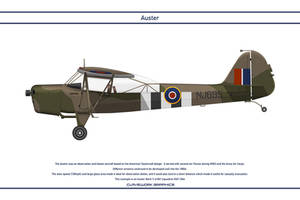 Auster GB 661 Squadron 1 by WS-Clave