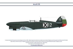 Avia B.135 Bulgaria 3 by WS-Clave