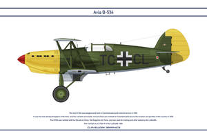 Avia B-534 Germany 4 by WS-Clave