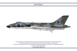 Vulcan GB 83 Squadron 2 by WS-Clave