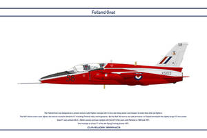 Gnat GB 4th Flying Training School by WS-Clave