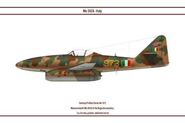 Fantasy 973 Me 262A Italy by WS-Clave